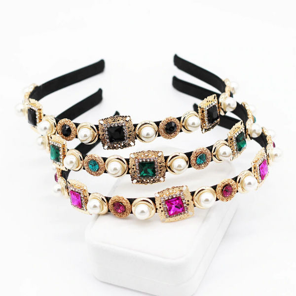 Baroque Jewelled Headband